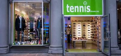 tennis bergen sko