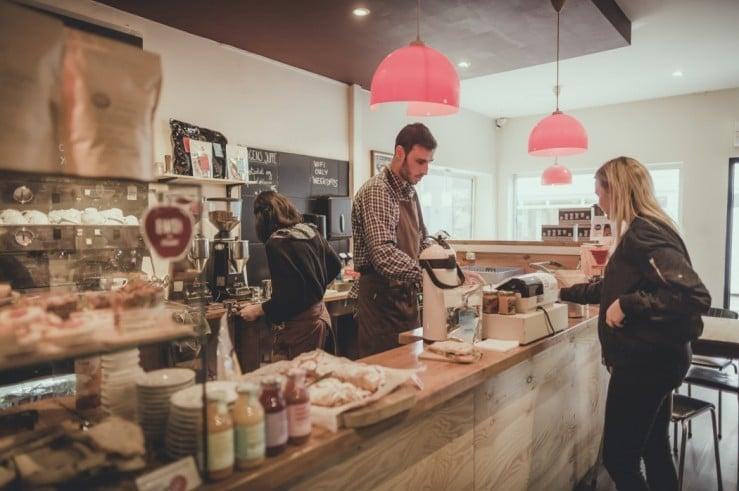 Lunsj på Bergen Kaffebrenneri