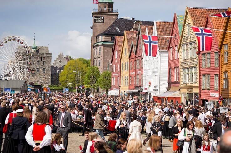 Slik blir 17. mai i Bergen sentrum