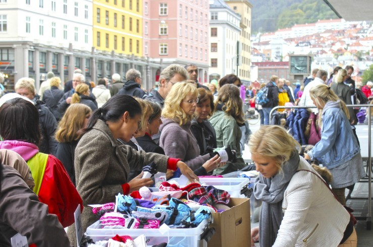 Stort byLØRDAG-marked på Torgallmenningen 23. april