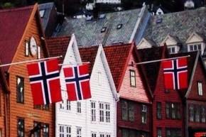 17. mai i Bergen sentrum