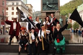 Piratfestivalen lørdag 15. august