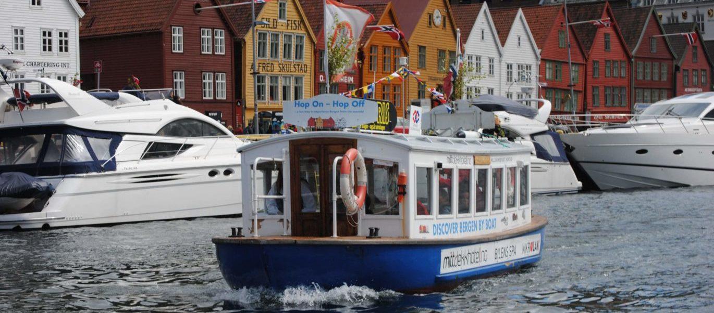 Beffen – Bergensbåten gjennom tidene