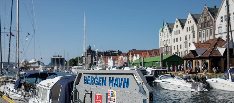 Bergen gjestehavn er klar for sommer
