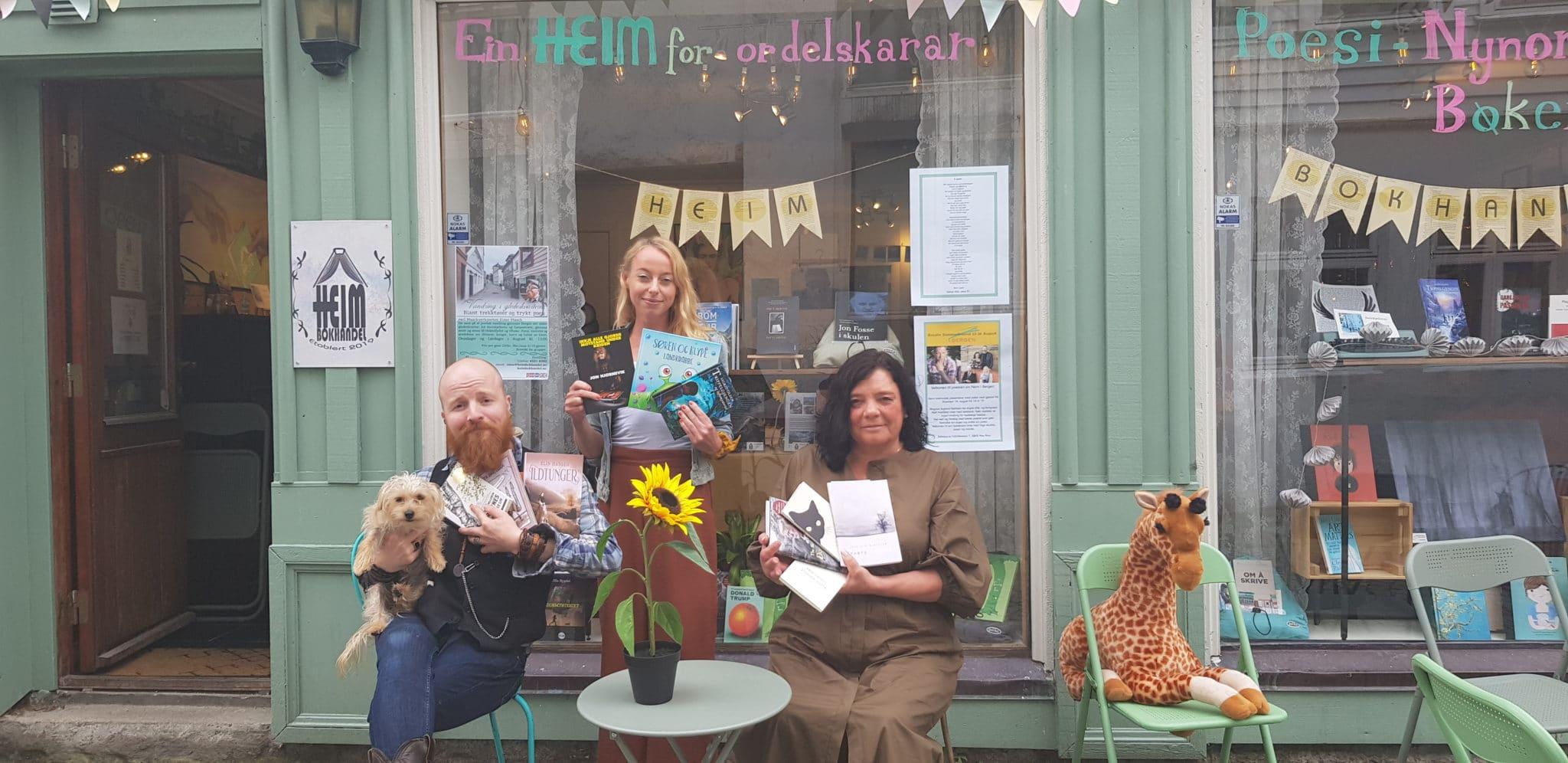 Høstens lesestoff anbefalt av HEIM – byens siste tillegg av uavhengige bokhandler