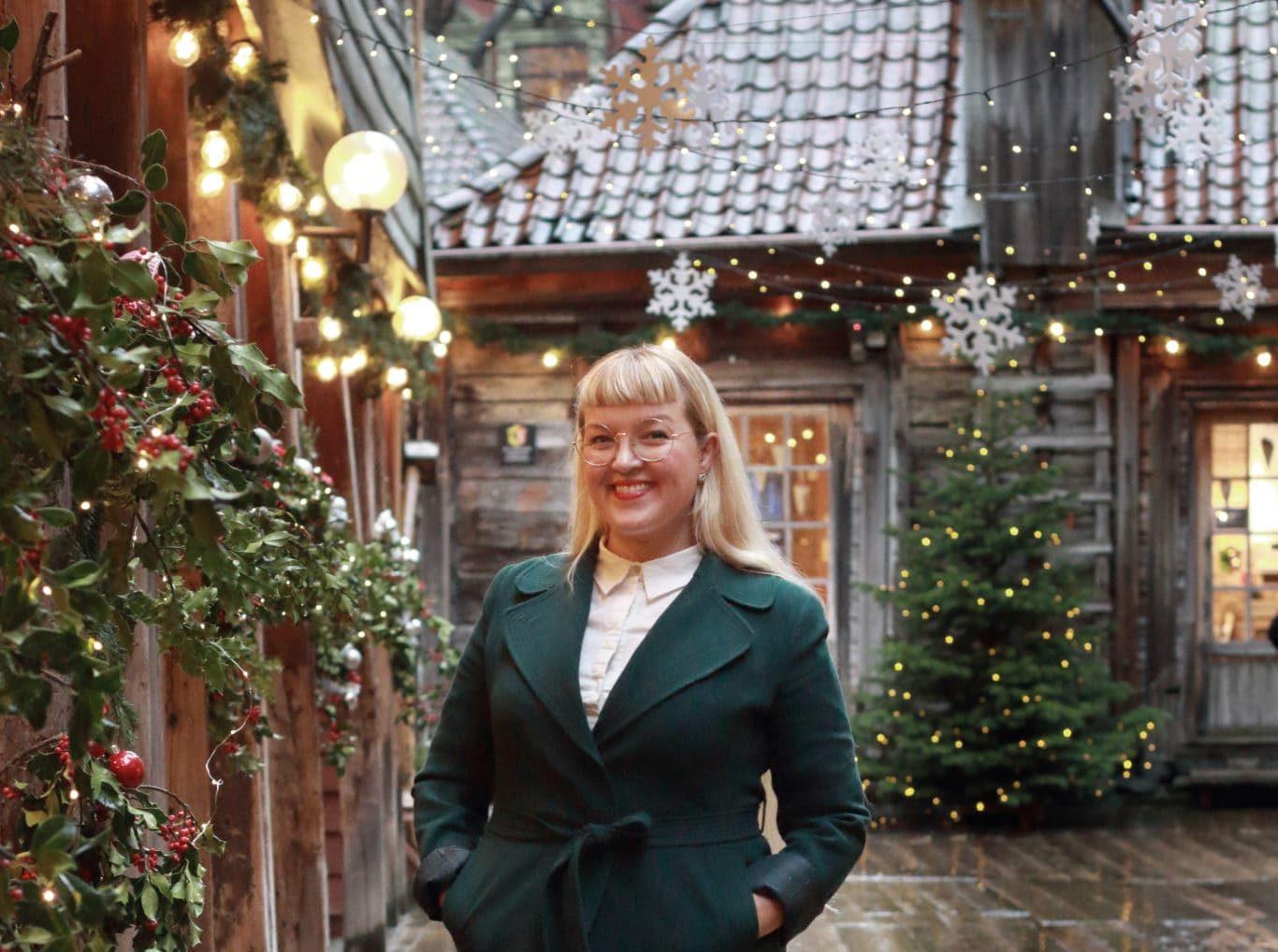 Jul på Bryggen med Gunvor og småbedriftene