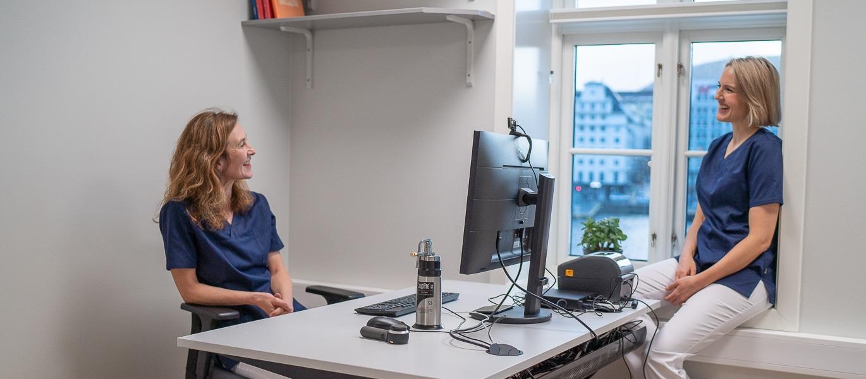 Bergens første private hudlegesenter finner du på Bryggen