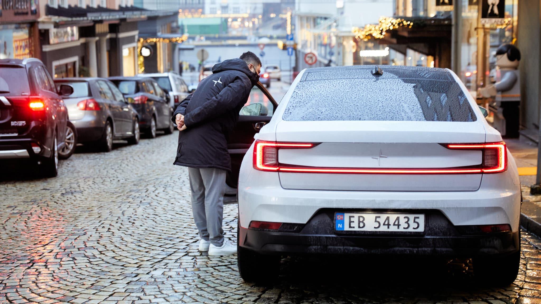 Nå kan du kjøre og oppleve Polestar i Bergen sentrum