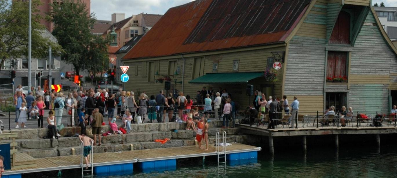 Badeplasser i Bergen by