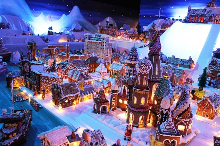 Velkommen til gratis treff julaften i verdens største og flotteste Pepperkakeby